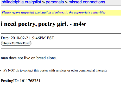Philadelphia craigslist men seeking men